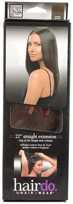 "Hairdo. by Jessica Simpson & Ken Paves 22"" Clip in Hair Extension Straight Tru2life"