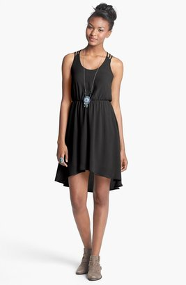 Lush Strappy High/Low Dress (Juniors)
