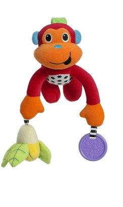 Infantino pull & play monkey toy