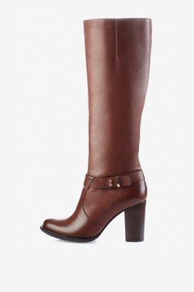 Olga Leather Knee-High Boots