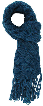 Forever 21 Chunky Knit Tasseled Scarf