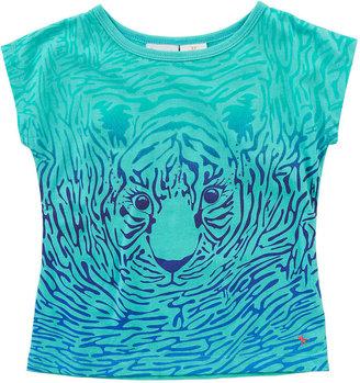 Babies 'R' Us Heidi Klum Truly Scrumptious Girls' Tiger Print Graphic Tee - Toddler