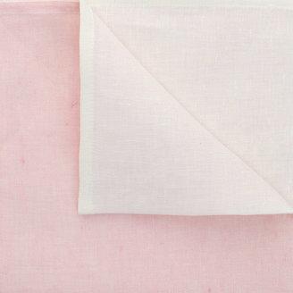 Deborah Rhodes Two-Tone Linen Napkin