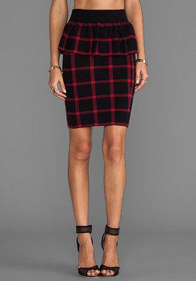 Torn By Ronny Kobo Jaden Casual Plaid Skirt
