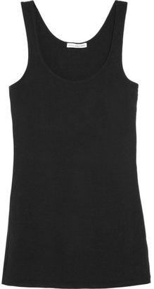 James Perse Stretch brushed-jersey tank