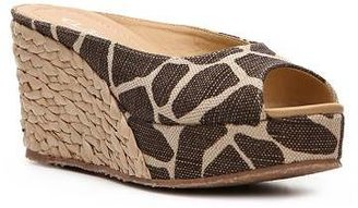 Chinese Laundry CL by Laundry Date Night Giraffe Wedge Slide
