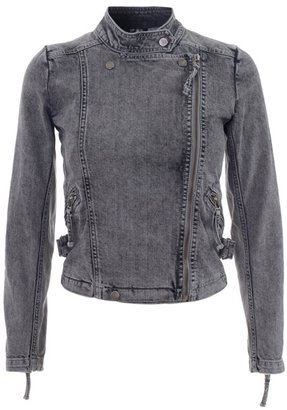 IRO Denim motorcycle jacket