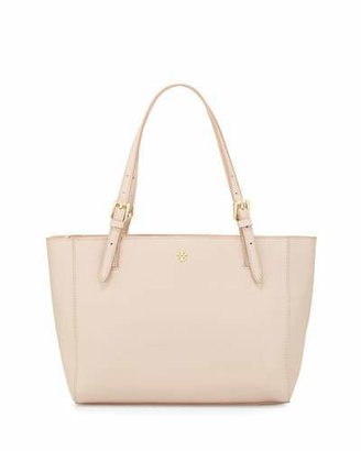 Tory Burch York Small Saffiano Leather Tote Bag, Light Oak $245 thestylecure.com