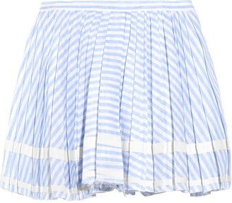 Boy By Band Of Outsiders Striped linen mini skirt