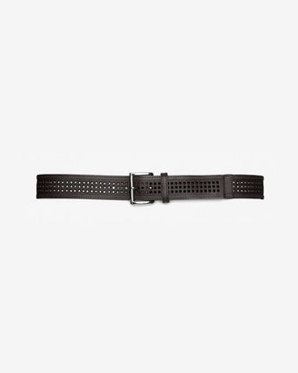 Linea Pelle Perforated Leather Belt