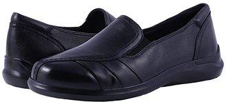 Aravon Faith (Black) Women's Slip on Shoes