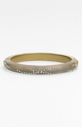 Alexis Bittar 'Lucite ® - Dust' Small Hinged Bracelet