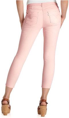 Levi's Jeans, Denim Leggings Colored Wash