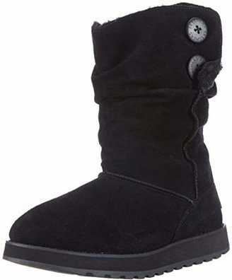 Skechers Women's Keepsakes-Freezing Temps Faux-Fur-Lined Boot $64.99 thestylecure.com