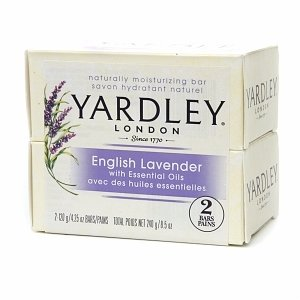 Yardley London of London Naturally Moisturizing Bath Bar, English Lavender