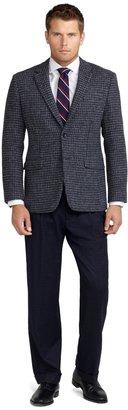 Brooks Brothers Milano Fit Harris Tweed Houndstooth Sport Coat