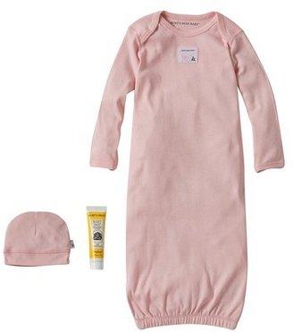 Burt's Bees BabyTM Newborn Girls' Nightgown - Pink 0-6 M