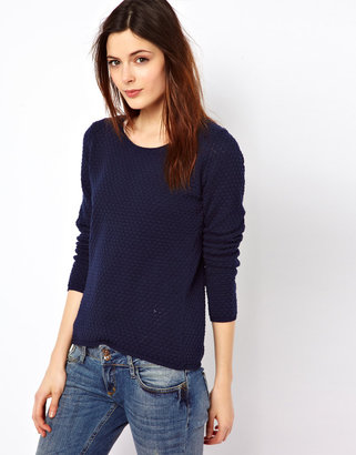Denham Jeans Open Back Sweater