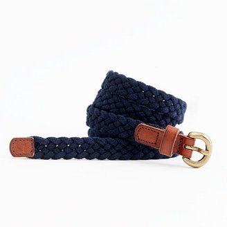 J.Crew Factory Factory braided belt
