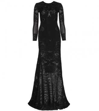 Roberto Cavalli Stretch-knit gown