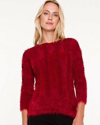 Le Château Boat Neck Crop Sweater