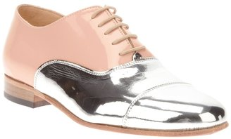 Dieppa Restrepo mirror front lace-up shoe