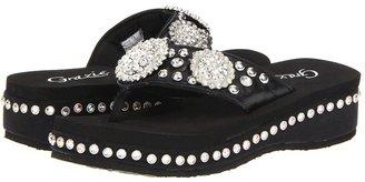 Grazie Gleam (Black) - Footwear
