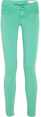 Rag and Bone Rag & bone Biscay low-rise leggings-style jeans