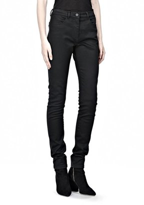 Alexander Wang Stretch Sateen High Waisted Jeans