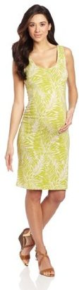 Ripe Maternity Women's Maternity Frond Tube Dress