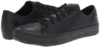 Skechers Hardwood (Black) Women's Lace up casual Shoes