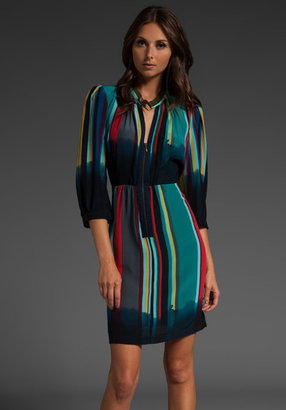 Plenty by Tracy Reese Silk Zip Front Dress