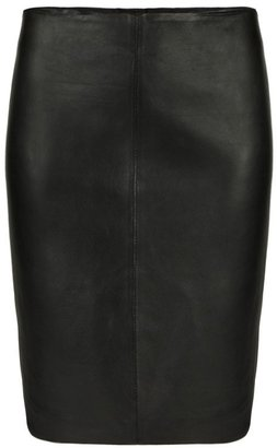 AllSaints Lucille Leather Skirt