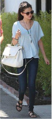 Free People Keep Me Tee in Mint as Seen on Selena Gomez