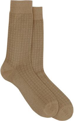 Barneys New York Square Stitched Sock