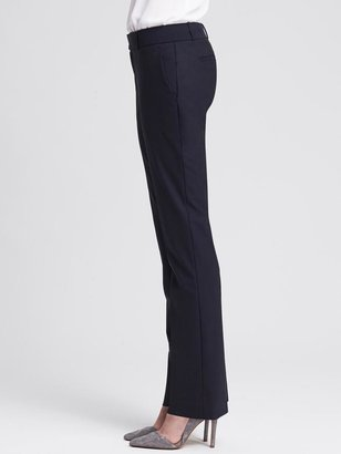 Banana Republic Martin-Fit Navy Lightweight Wool Straight Leg
