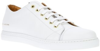 Marc Jacobs leather lace-up sneaker