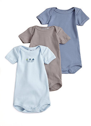 Petit Bateau Infant's Three-Piece Bodysuit Gift Set