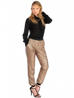House Of Harlow Jagger Sequin Pants