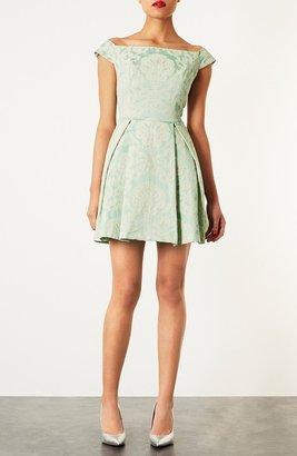 Topshop 'Debutante' Off Shoulder Dress