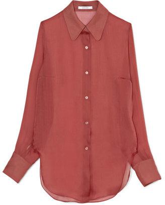 Carven Silk Organza Shirt