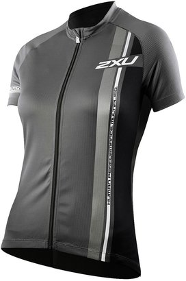 2XU Sublimated Cycling Jersey - Full Zip, Short Sleeve (For Women)