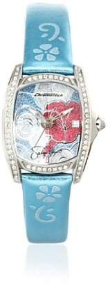 Hello Kitty CT.7094SS-12 Stainless Steel Light Blue Leather Watch $8.24 thestylecure.com