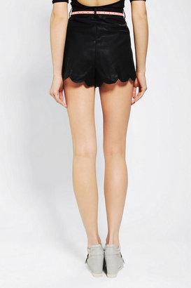 MinkPink Sports Luxe Vegan Leather Short