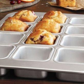 Sur La Table Fat Daddio's 12 Cup Square Muffin Pan