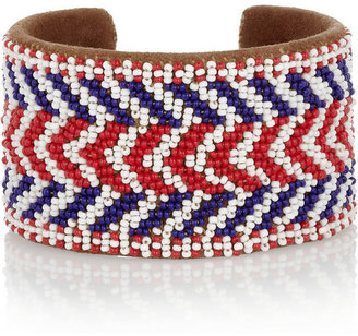Isabel Marant Beaded suede cuff