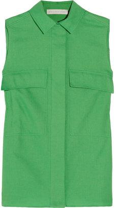 Stella McCartney Cotton-blend piqué shirt