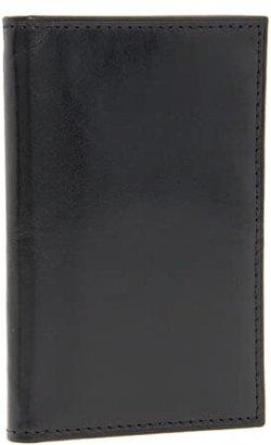 Bosca Old Leather Collection - 8 Pocket Credit Card Case (Amber) Wallet