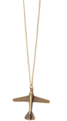 Bliss by Nikki G Airplane Necklace