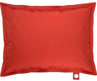Crate & Barrel Chill Red Floor Pillow